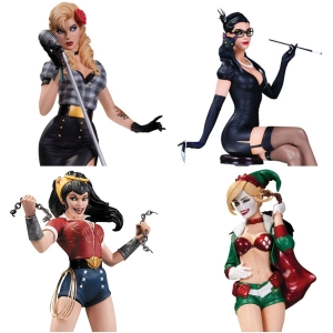 DC Bombshells Collage