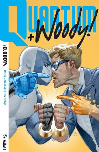 This is just funny. Basically like Deadpool, just as funny. I am a big fan of 4th wall breaking! - Quantum and Woody, Valiant, 2017